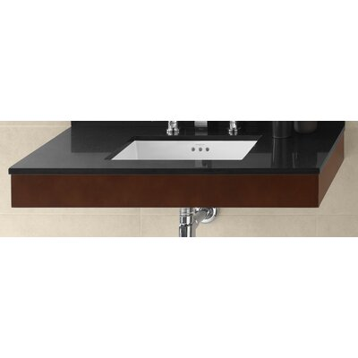 Adina 36 Wall Mount Bathroom Vanity Base Cabinet in Dark Cherry