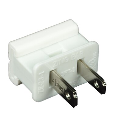 Electrical Plug Color: White