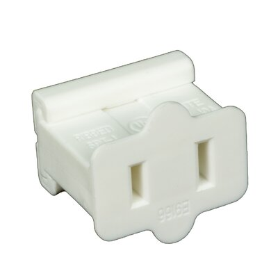 Electrical Receptacle (Set of 50) Color: White