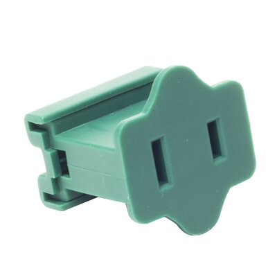 Electrical Receptacle Color: Green
