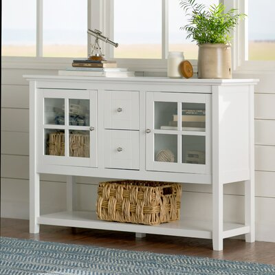 Sylar 52 TV Stand Color: White