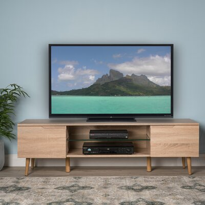Elton 59 TV Stand Color: Oak