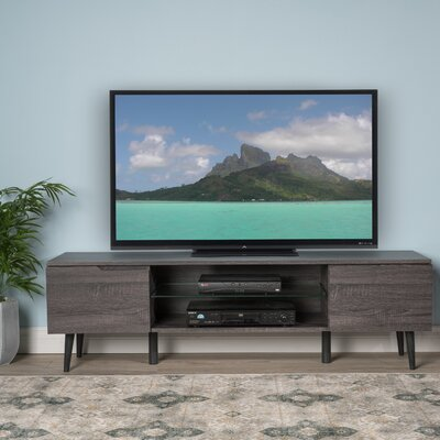 Elton 59 TV Stand Color: Gray