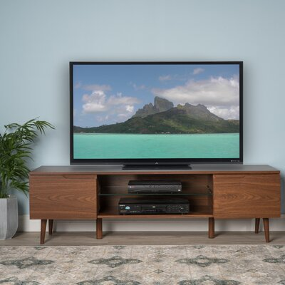 Elton 59 TV Stand Color: Walnut