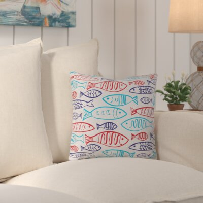 Sullivan Polyester Throw Pillow Size: 16 H x 16 W x 4 D
