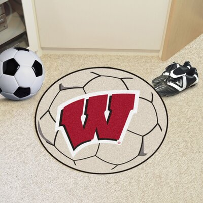 NCAA University of Wisconsin Soccer Ball