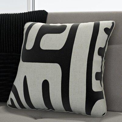 Linen/Cotton Blend Throw Pillow Size: 24 x 24