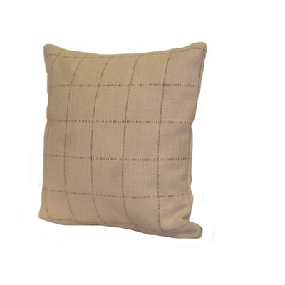 Highlander Plaid Throw Pillow Size: 24 x 24, Color: Cocoa