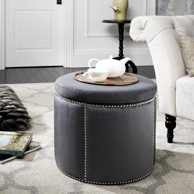 Orpington Storage Ottoman Upholstery: Grey
