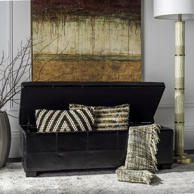 Madison Leather Storage Bench