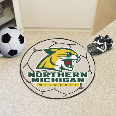 NCAA Northern Michigan University Soccer Ball