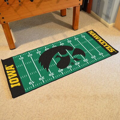 NCAA University of Iowa Football Field Runner