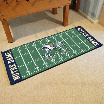 NCAA Notre Dame Football Field Runner