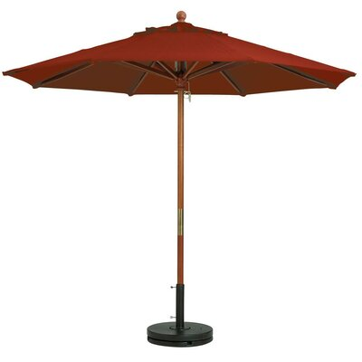 7.5 Windmaster Market Umbrella Fabric: Terra Cotta