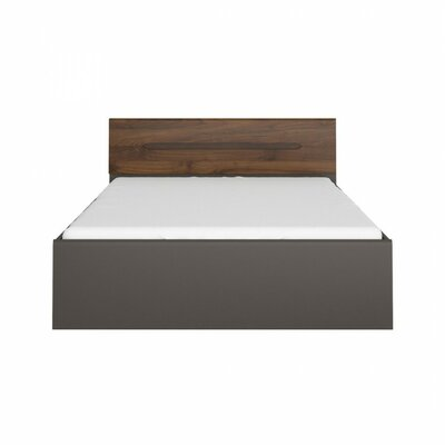 Elpasso Queen Platform Bed Finish: Gray / Dark Brown