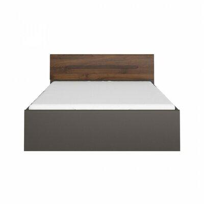 Elpasso Queen Platform Bed Color: Gray / Dark Brown
