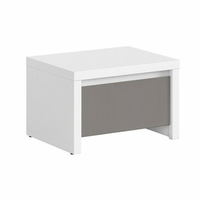 Kaspian 1 Drawer Nightstand Color: Gray
