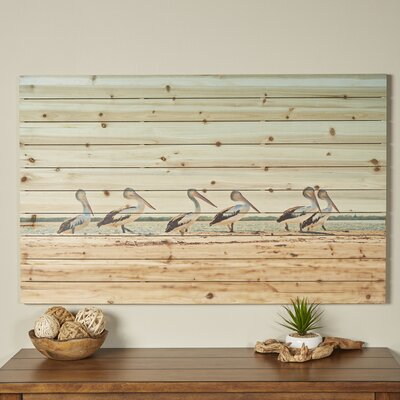 Pelican Flock Wall Art
