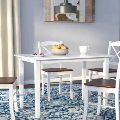 Bushman Dining Table Color: White