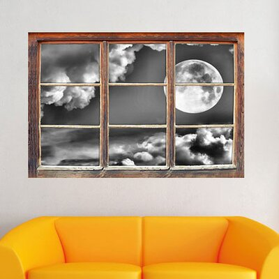 Full Moon Wall Sticker.
