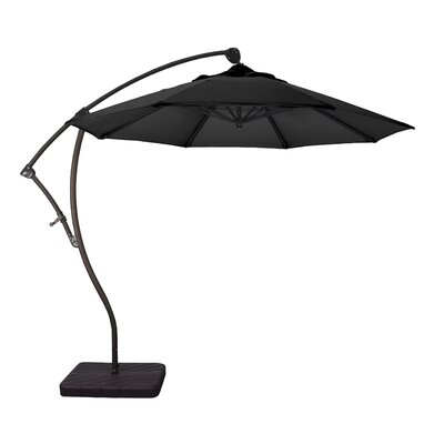 9 Phat Tommy Cantilever Umbrella Fabric: Black