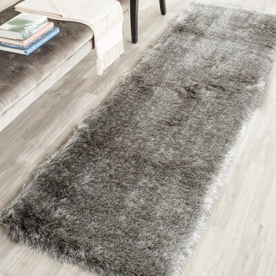 Montpelier Silver Area Rug Rug Size: Runner 23 x 8