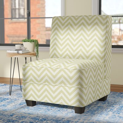 La Mott Slipper Chair Upholstery: Citron