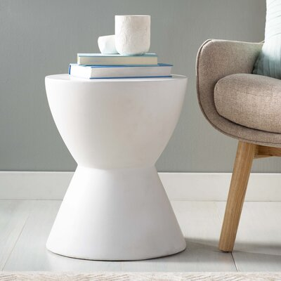 MIXT Logan End Table Finish: White