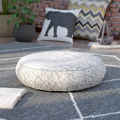 Brook Floor Pillow Size: 26 H x 26 W x 7 D