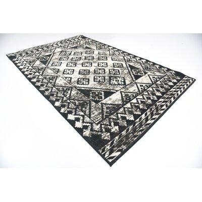 Jan Gray Geometric Area Rug Rug Size: 6 x 9