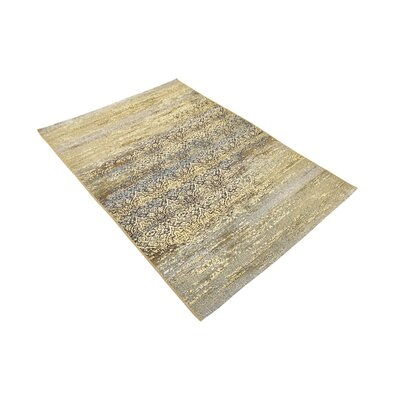 Jamie Beige Abstract Indoor/Outdoor Area Rug Rug Size: Rectangle 4 x 6