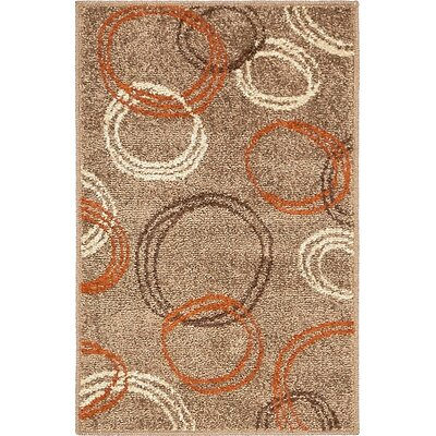 Bryan Light Brown Area Rug Rug Size: Rectangle 2 x 3