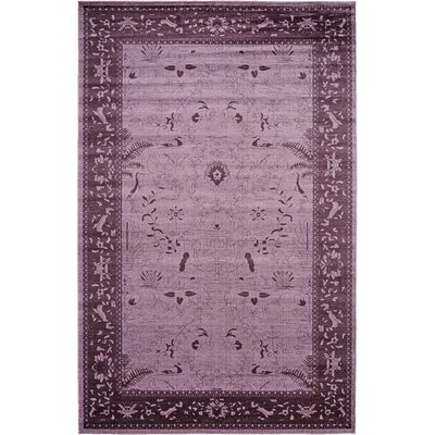Shailene Purple Area Rug Rug Size: Rectangle 106 x 165