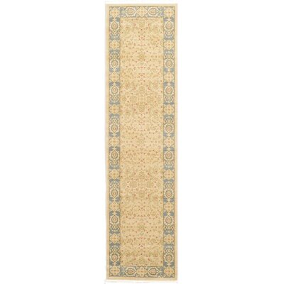 Willow Cream Area Rug Rug Size: Runner 27 x 10