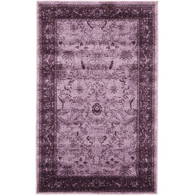 Imperial Purple Area Rug Rug Size: 33 x 53