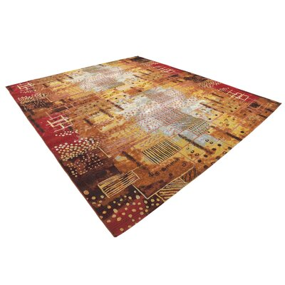 Victoria Orange Indoor/Outdoor Area Rug Rug Size: 10 x 12