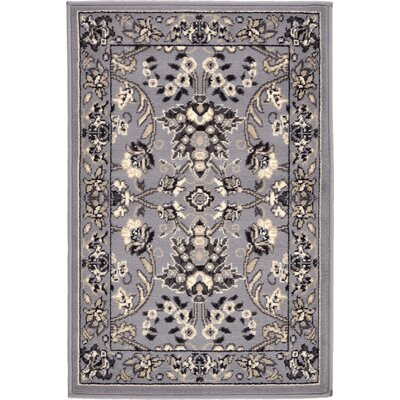 Essehoul Gray Area Rug Rug Size: 22 x 3