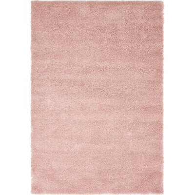 Sydnee Pink Area Rug Rug Size: Rectangle 5 x 77