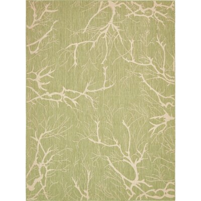 Green Outdoor Area Rug Rug Size: 9 x 12