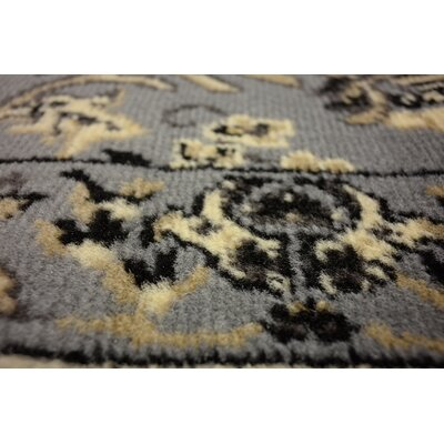 Essehoul Gray Area Rug Rug Size: 9 x 12
