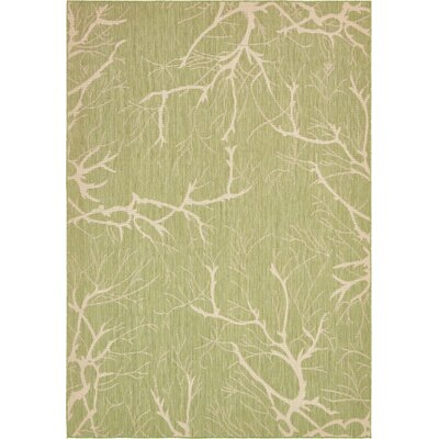 Green Outdoor Area Rug Rug Size: 8 x 114