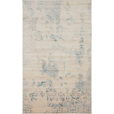 Elisha Beige Area Rug Rug Size: Rectangle 5 x 8