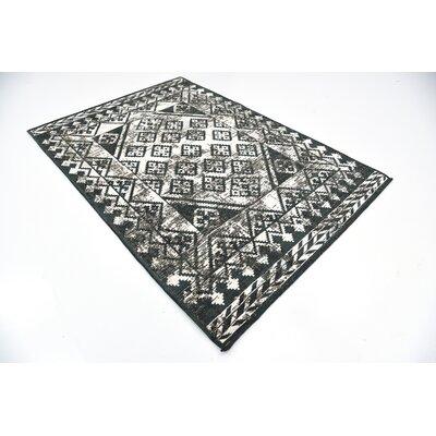 Jan Gray Geometric Area Rug Rug Size: 49 x 67