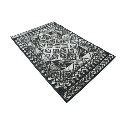 Jan Gray Geometric Area Rug Rug Size: 39 x 55
