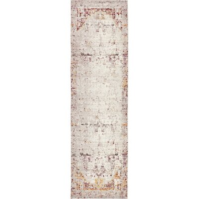 Carrico Tibetan Beige Area Rug Rug Size: Runner 27 x 910