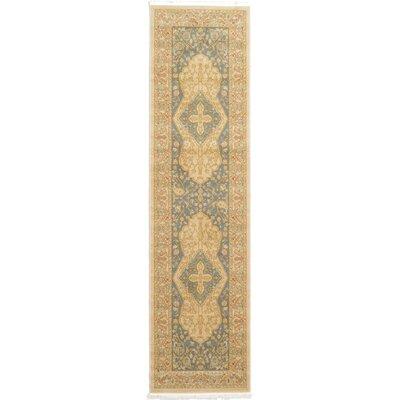Jamar Cream Oriental Area Rug Rug Size: Runner 10 x 3