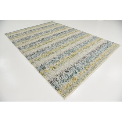 Akin Cream Indoor/Outdoor Area Rug Rug Size: Rectangle 7 x 10
