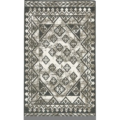Jan Gray Geometric Area Rug Rug Size: 5 x 8