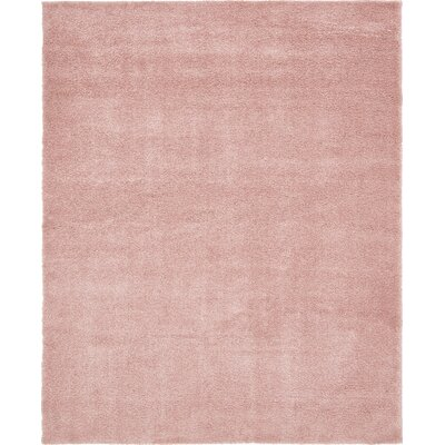 Sydnee Pink Area Rug Rug Size: Rectangle 8 x 10