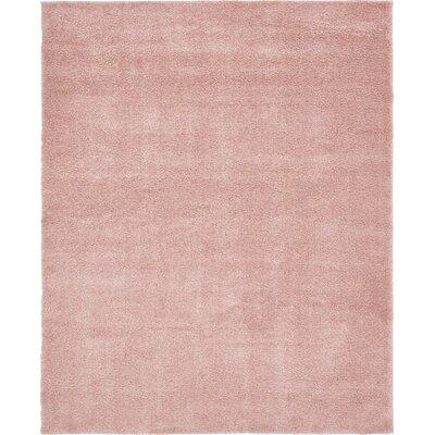 Sydnee Pink Area Rug Rug Size: 8 x 10